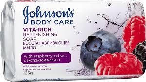 Купить <b>Мыло JOHNSON</b>`S Body Care Vita Rich, <b>туалетное</b> ...