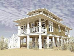 After katrina and sandy, houses are going up, way up. Florida Homes On Stilts 15 Best Decoration Ideas Coastal House Plans Stilt House Plans Small Beach Houses