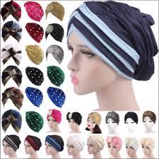 <b>Muslim Women</b> Hijab Beanie Turban Cap <b>Inner Wrap</b> Hat Chemo ...