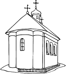 Small Picture Coloring Pages About Church Coloring Pages
