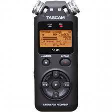 Máy Ghi Âm Chuyên Nghiệp Tascam DR-05 ( Hàng Chính Hãng) - Máy thu và máy  phát âm thanh