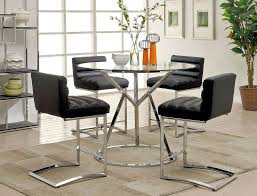 piero modern pub table set regarding round and chairs remodel 12