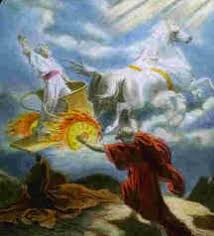Image result for elijah was taken by the whirlwind to another mountain