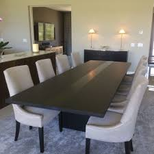 minimalist dining room modern dining tables contemporary room custommade wood table jason bedre for and chairs with leaf glass eating distressed rectangle