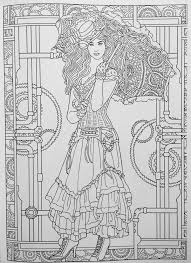 Small Picture 38 best Steampunk Color Pages images on Pinterest Coloring books