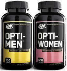 optimum nutrition opti men opti women