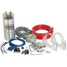scosche kpca w gauge car amplifier install kit f scosche kpca4 1600w 4 gauge car amplifier install kit 0 05f stiffening cap