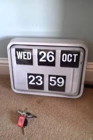 vintage flip calendar retro vintage flip clock calendar grayson you vintage flip
