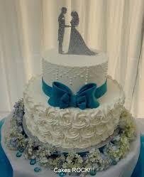 Simply Elegant Buttercream Wedding Cake Cake By Cakes Rock