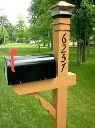 mailbox post plans. Delighful Mailbox 6x6 Mailbox Post Plans Picture Cedar  Designs On Mailbox Post Plans L