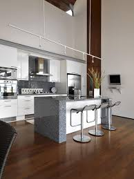 Modern Kitchen With Bar Useable Bar Stools For Homes New Home Designs