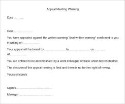 Hr Warning Letter 30 Hr Warning Letters Pdf Doc Free Premium Templates