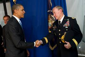 u s department of defense photo essay  president barack obama greets army gen martin e dempsey at the chairman of the