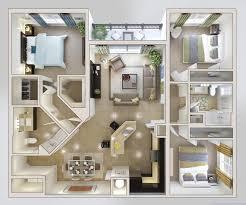 3 Bedroom Home Design Plans Cool Decorating Ideas