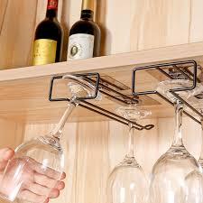 1pcs iron wall mount wine glass hanging