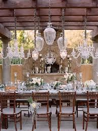 outdoor wedding chandeliers