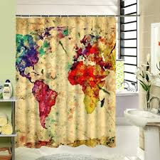 map shower curtain attractive world map shower curtain elegant shower curtain map of the world idea map shower curtain