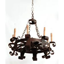 wrought iron lights chandeliers c french hand forged iron chandelier antique gallery ruby lane wrought iron