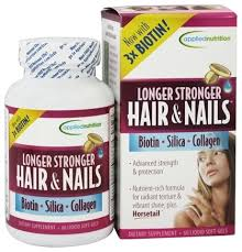 applied nutrition longer stronger hair and nails 60 softgels at luckyvitamin