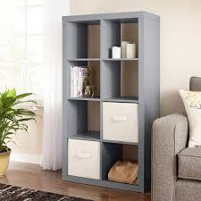 8 cube storage organizer sy open shelving home display storage grey new