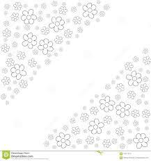 La Struttura Floreale Su Un Fondo Bianco Stampa Cartoline Dauguri