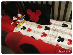 Mickey Mouse Bedroom Decorating The290ss Crib Sheets From A Twin Set Mickey Mouse Themed