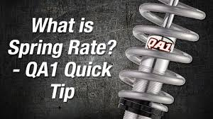 Progressive Suspension Spring Rate Chart What Is Spring Rate Qa1 Quick Tip