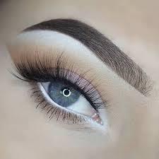 white eyeliner everyday makeup look