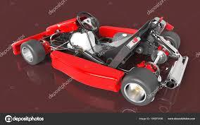 Go Kart Car Design Go Kart Car Karting 3d Rendering Stock Photo Andrija