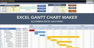 Gantt Chart Excel 2019 62 Circumstantial Gun Chart Excel