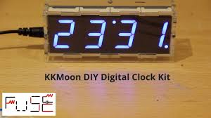 fusedojo kkmoon diy clock kit