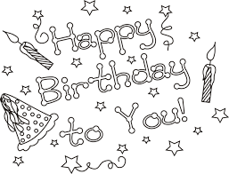 Small Picture Happy Birthday Cards Coloring Pages Coloring Pages Pinterest