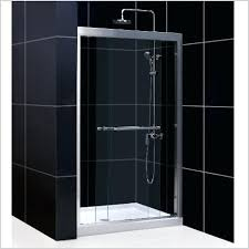 sublime 48 inch frameless shower doors halo big roller inch sliding