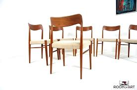 danish dining room danish dining chair with home design set of six danish dining chairs in