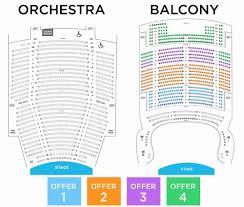 Orpheum Theater Phoenix Seating Chart Al Hirschfeld Theatre Seat Map Tampa Bay Bucs Seating View