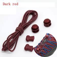 <b>1 Pair</b> 22 Colors Elastic <b>Shoelaces</b> Round Locking No Tie Shoe ...