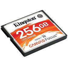 Canvas Focus <b>Compact Flash</b> Card