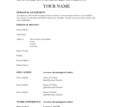 How To Write An Easy Resume Free Resume Creator Download Easy Free