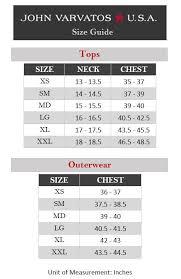 Mizzen And Main Size Chart John Varvatos Star U S A Clayton Long Sleeve Shirt Zappos Com