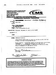 Medicare Warning Letter