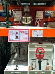 kitchenaid mixer at costcomixer on artisan qt stand costco kitchen aid the connoisseur cooks ilrated recommendations