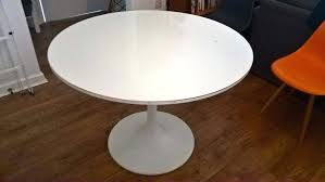decoration white round dining table for ikea room sets