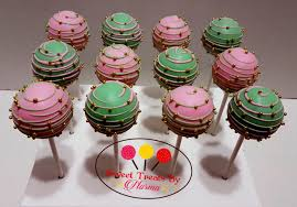 Charming Ideas Starbucks Birthday Cake Pop Mint Green Pink And Gold