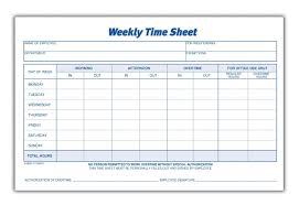 Employee Weekly Time Sheet 004 Template Ideas Timesheet Free Fantastic Printable