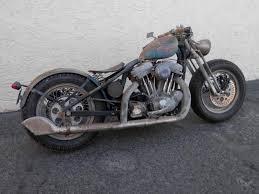 image harley davidson sportster custom bobber by bobberpros chopper rat bike vine us 9 100 00