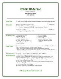 Entry Level Resume For High School Students Resume Online Builder
