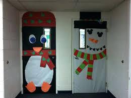 penguin door decorating ideas. Christmas Door Decorating Ideas School Penguin And Snowman Classroom Decoration By M Decorations A