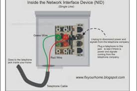 telephone network interface wiring telephone circuit diagrams telephone network interface device box wiring diagram wiring diagram