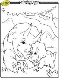 Crayola Dinosaur Coloring Pages
