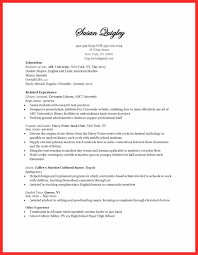 Examples Of Bad Resumes Examples Of Resumes